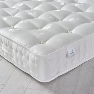 An Image of Signature Platinum 2000 Pocket Sprung Orthopaedic Natural Fillings Mattress - 4ft6 Double (135 x 190 cm)