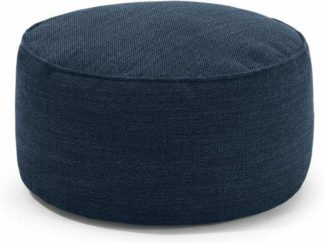 An Image of Lux Floor Cushion, Midnight Weave