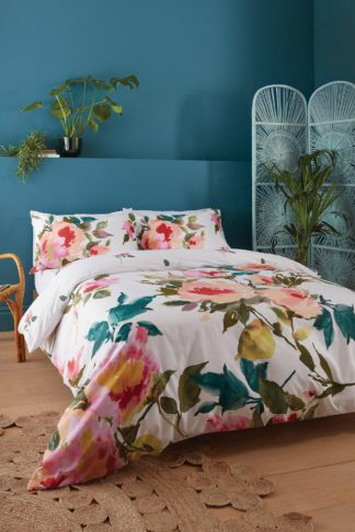 An Image of Abstract Floral Single Duvet Set