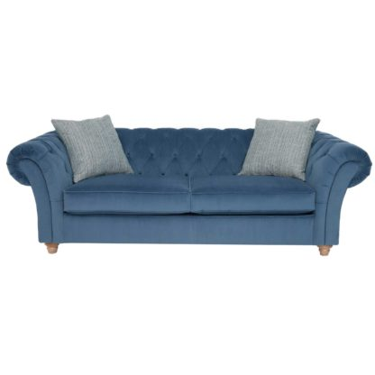 An Image of Maddox Extra Large Chesterfield Sofa