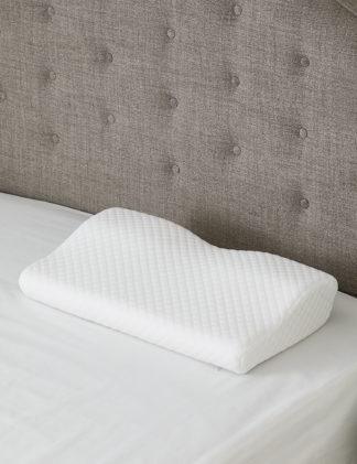 An Image of M&S Kally Sleep Neck Pain Firm PIllow