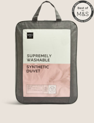 An Image of M&S Unisex Supremely Washable 4.5 Tog Duvet