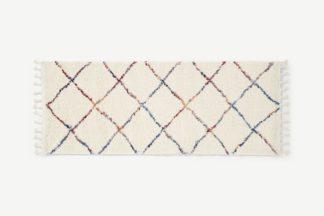 An Image of Perdru Berber Style Runner, 80 x 200cm, Multi