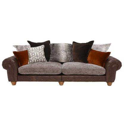 An Image of Melville Grand Split Frame Pillow Back Sofa
