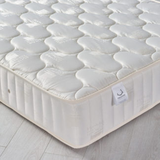 An Image of 6ft Super King Size Quilted Fabric Mattress - Semi-Orthopaedic Pinerest Spring