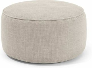 An Image of Lux Floor Cushion, Oat Weave