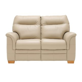 An Image of Parker Knoll Hudson 2 Seater Sofa, Leather