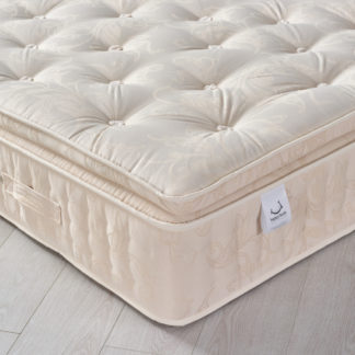An Image of Signature 2000 Pocket Sprung Pillow Top Natural Fillings Mattress - 5ft King Size (150 x 200 cm)