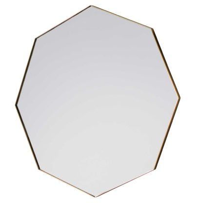 An Image of Octagon Mirror, Gold