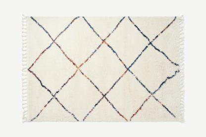 An Image of Perdru Berber Style Rug, Large 160 x 230cm, Multi