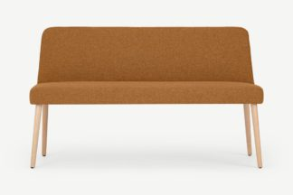 An Image of Adams Dining Bench, Orleans Marmalade Orange