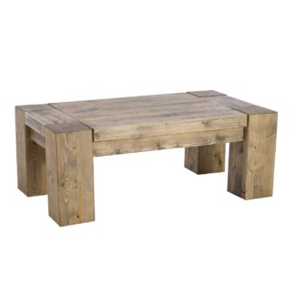 An Image of Samson Reclaimed Wood Large Coffee Table