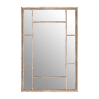 An Image of Zara Antique Silver Panel Wall Mirror