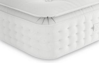 An Image of M&S Pillowtop Lambswool 1700 Pocket Sprung Medium Mattress