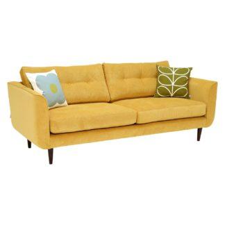 An Image of Orla Kiely Linden Large Sofa