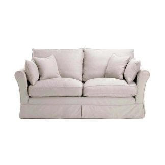 An Image of Berkeley Fabric Loose Covers Small Sofa