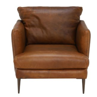 An Image of New Acacia Leather Chair