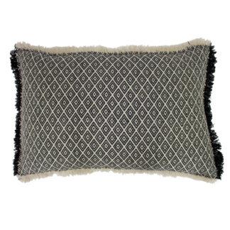 An Image of Diamond Monochrome Cushion