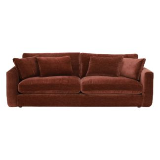 An Image of Fable Extra Large Sofa, Astrid Brick
