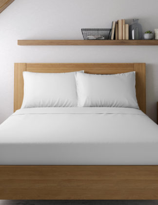 An Image of M&S Egyptian Cotton 400 Thread Count Sateen Standard Pillowcase