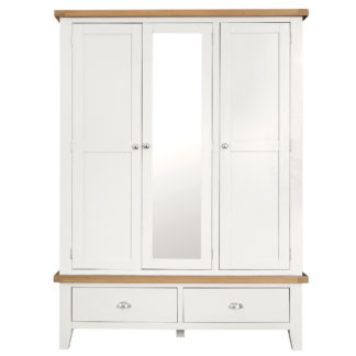 An Image of Althorp Large 3 Door Wardrobe