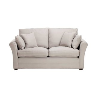 An Image of Berkeley Fabric Fixed Cover Small Sofa