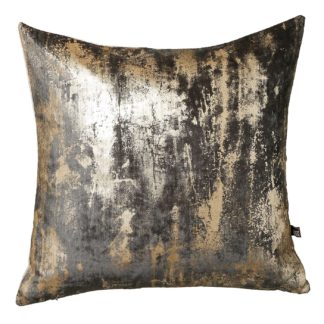 An Image of Abstract Cushion, Grey