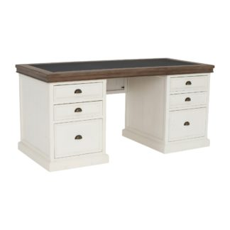 An Image of Berkshire Reclaimed Wood Large Desk