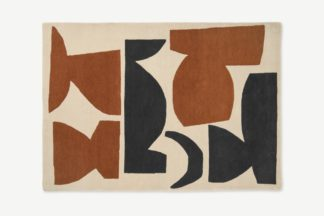 An Image of Lafant Hand-Tufted Wool Rug, Large 160 x 230cm, Multi