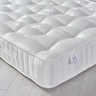 An Image of Signature Crystal 3000 Pocket Sprung Orthopaedic Natural Fillings Mattress - 4ft Small Double (120 x 190 cm)
