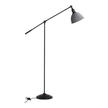 An Image of Farmhouse Floor Lamp - White