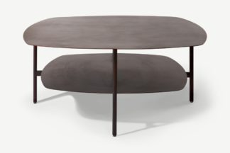 An Image of Tayen Square Coffee Table, Aged Bronze