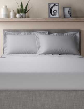 An Image of M&S Egyptian Cotton 400 Thread Count Percale Oxford Pillowcase
