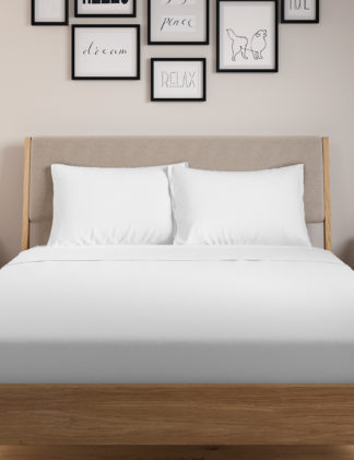 An Image of M&S 2 Pack Jersey Standard Pillowcases