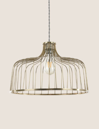 An Image of M&S Madrid Easy Fit Lamp Shade