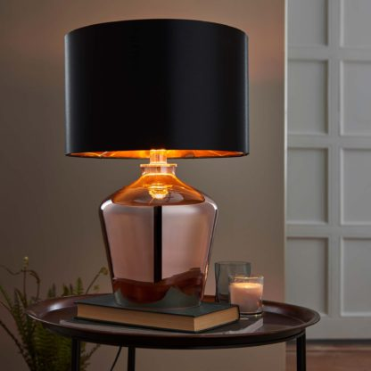 An Image of Vogue Courtland Table Lamp Copper