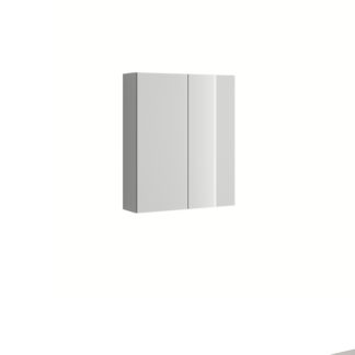 An Image of House Beautiful ele-ment(s) 600mm 2 Door Mirrored Bathroom Unit