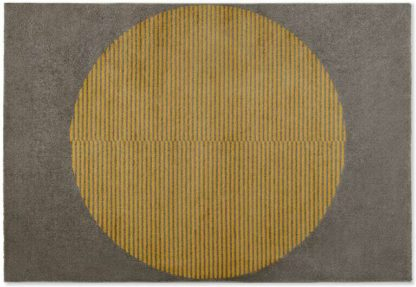 An Image of Sura Low Pile Rug, Large 160 x 230cm, Yellow