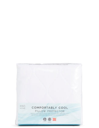 An Image of M&S 2 Pack Comfortably Cool Pillow Protectors