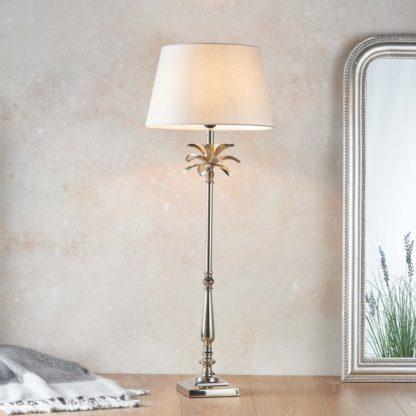 An Image of Vogue Laguna Large Table Lamp Base Nickel