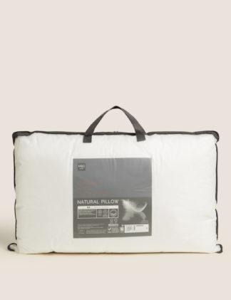 An Image of M&S Luxury Duck Down Medium Pillow