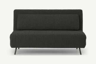 An Image of Kahlo Large Sofa Bed, Anthracite Boucle