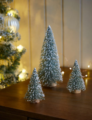An Image of M&S 3 Pack Christmas Tree Room Decorations