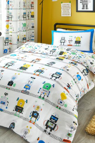 An Image of Robots Single Duvet Set