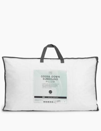 An Image of M&S Goose Down Medium Surround Pillow