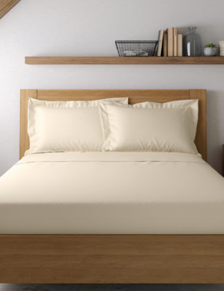 An Image of M&S Egyptian Cotton 400 Thread Count Sateen Oxford Pillowcase