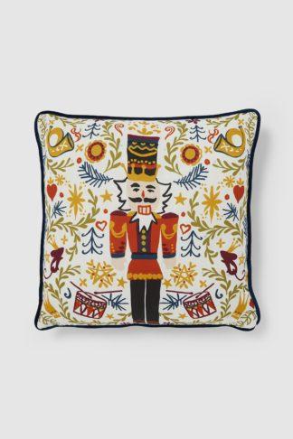 An Image of Christmas Nutcracker Cushion