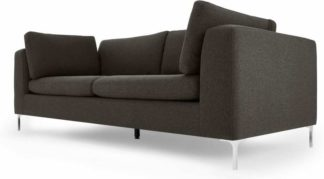 An Image of Monterosso 3 Seater Sofa, Oyster Grey