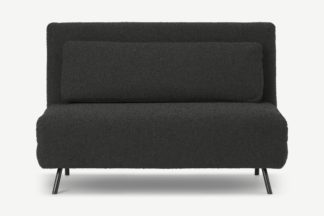 An Image of Kahlo Double Sofa Bed, Anthracite Boucle