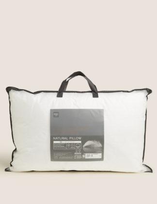 An Image of M&S Hungarian Goose Down & Feather Medium Pillow